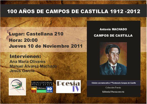 Campos de Castilla Libro de Campos de Castilla