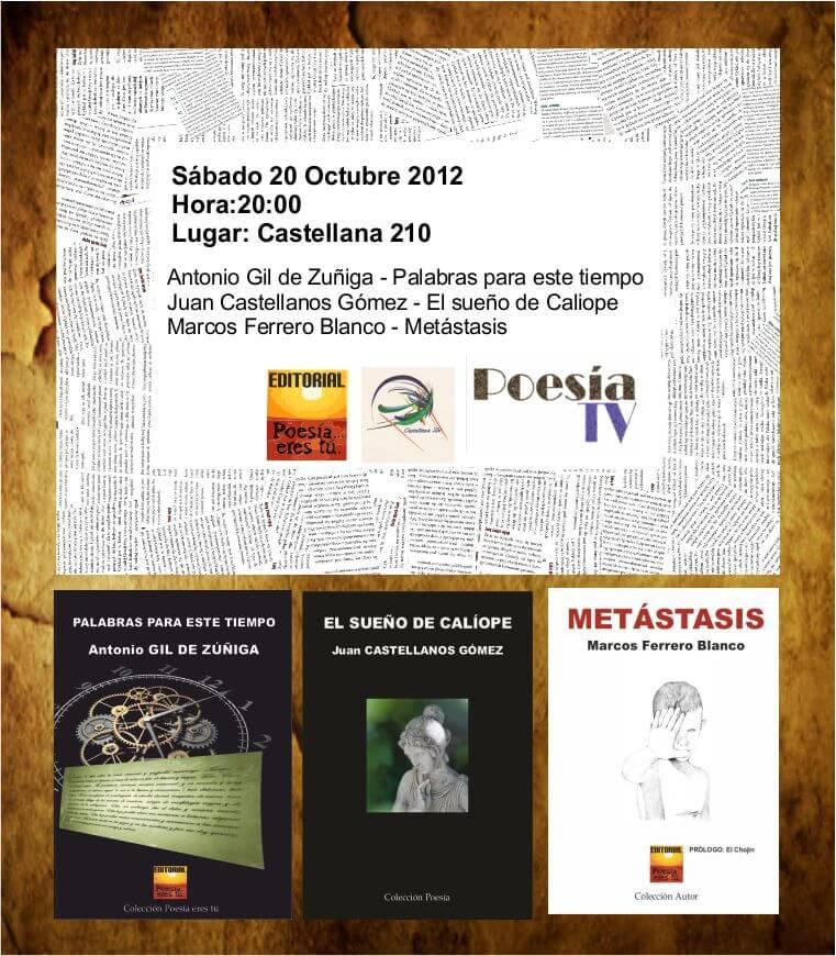 Recital 20 de Octubre de 2012 Recital 20 de Octubre de 2012 Cartel20 10 2012