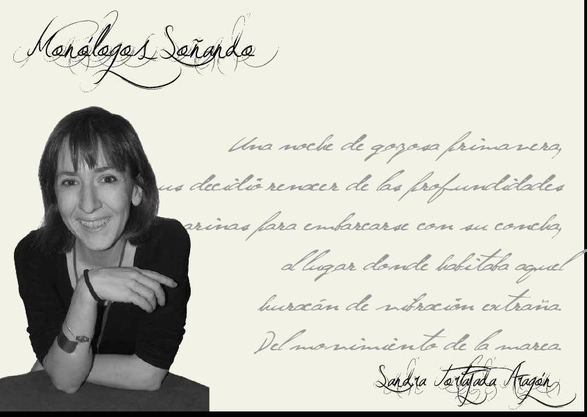 """Sandra Tortajada Aragón Sandra Tortajada Aragón Sandra Tortajada Aragón: """"La historia del mundo la escribimos tod@s"""" FichaAutor"""