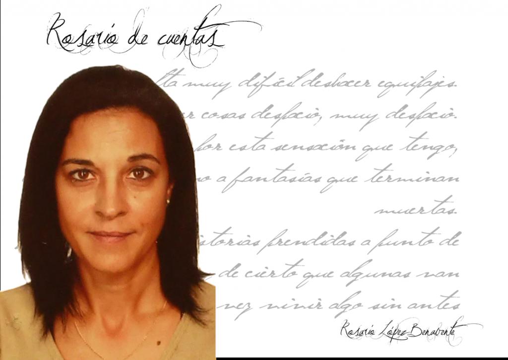 """Entrevista Rosario López Benavente  Rosario López Benavente: """"Escribir es una necesidad y un inmenso placer, tanto... que a veces me tiemblan las manos"""". FichaRosarioLopezBenavente"""